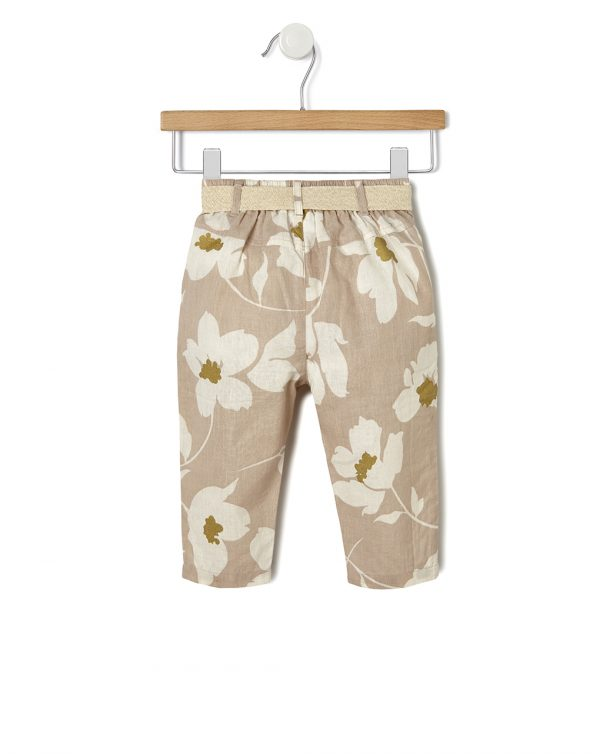 Pantalones de lino - Prénatal