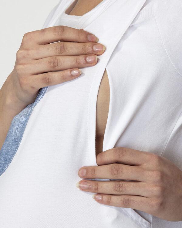 Camiseta de lactancia con estampado de Minnie - Prénatal