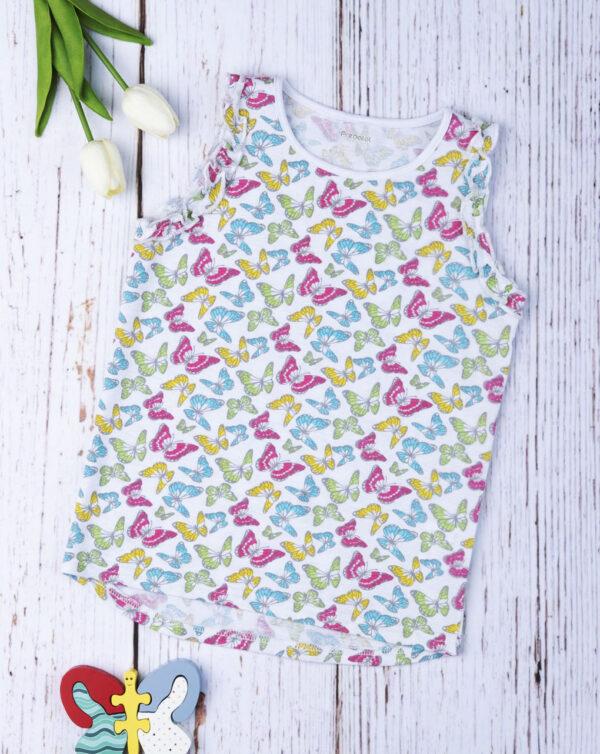 """Camiseta de tirantes de niña """"Butterfly"""" - Prénatal"""