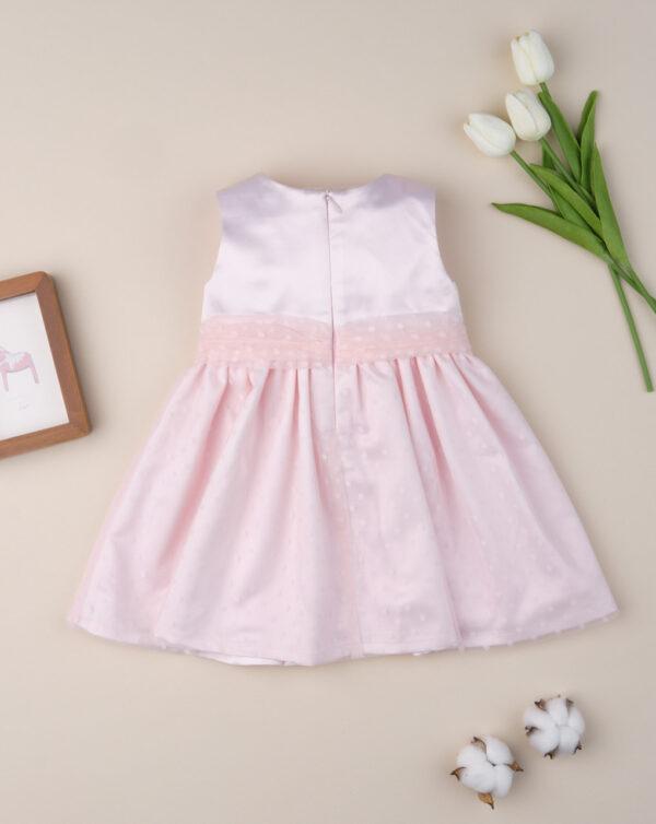 """Vestido de ceremonia de niña """"Rosa caramelo"""" - Prenatal 2"""