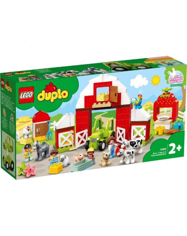 Lego Duplo - Granja con granero, tractor y animales - Lego
