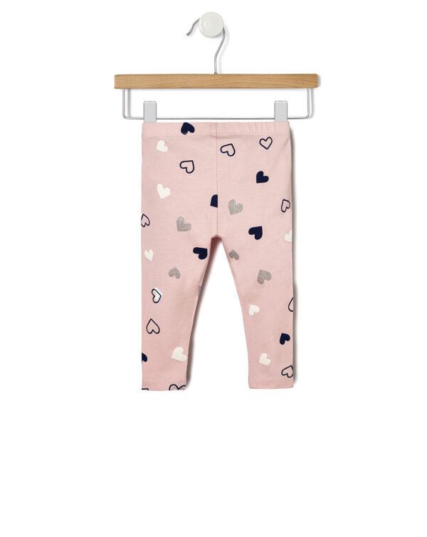 Leggings básicos con estampado «all over» - Prenatal 2