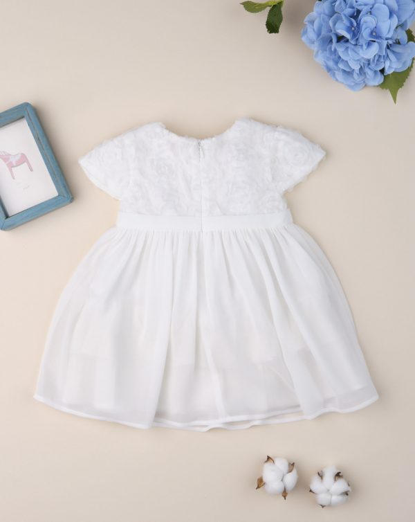"Vestido de ceremonia de niña ""tul crema"" - Prenatal 2"