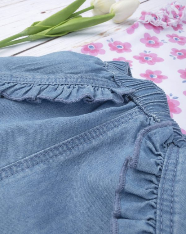 """Conjunto de shorts + camiseta de tirantes """"Flower"""" de niña - Prénatal"""