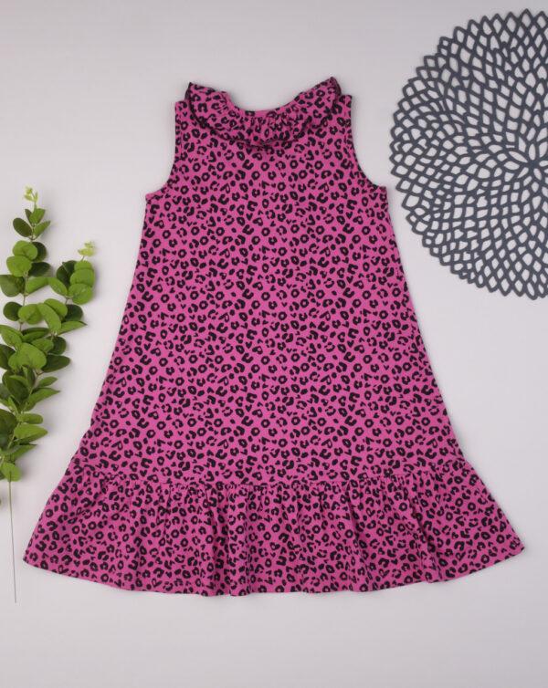 Vestido moteado fucsia - Prénatal