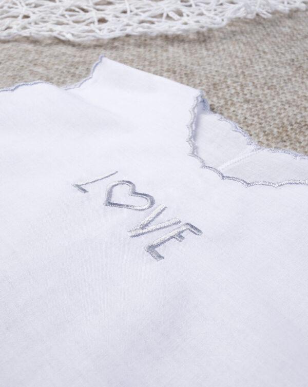 "Camisola unisex ""Love Plata"" - Prénatal"