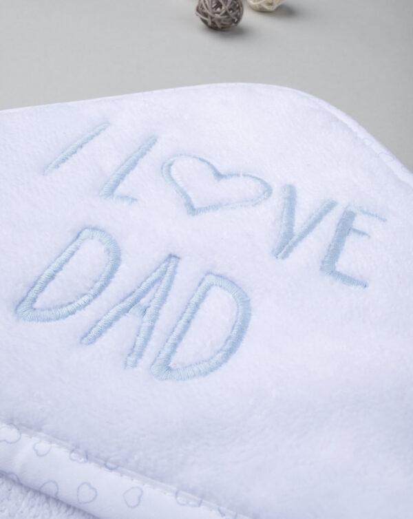 """Albornoz y zapatillas """"I love Dad"""" - Prénatal"""