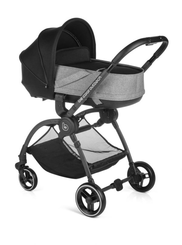 BECOOL - COCHECITO OUTBACK CRIB ONE BLACK - Be Cool