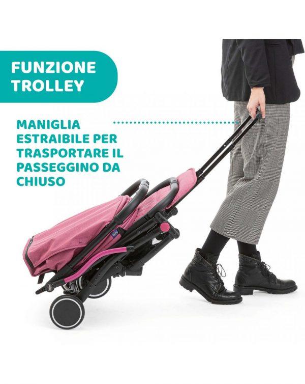 SILLA PASEO TROLLEYME LOLLIPOP - Chicco