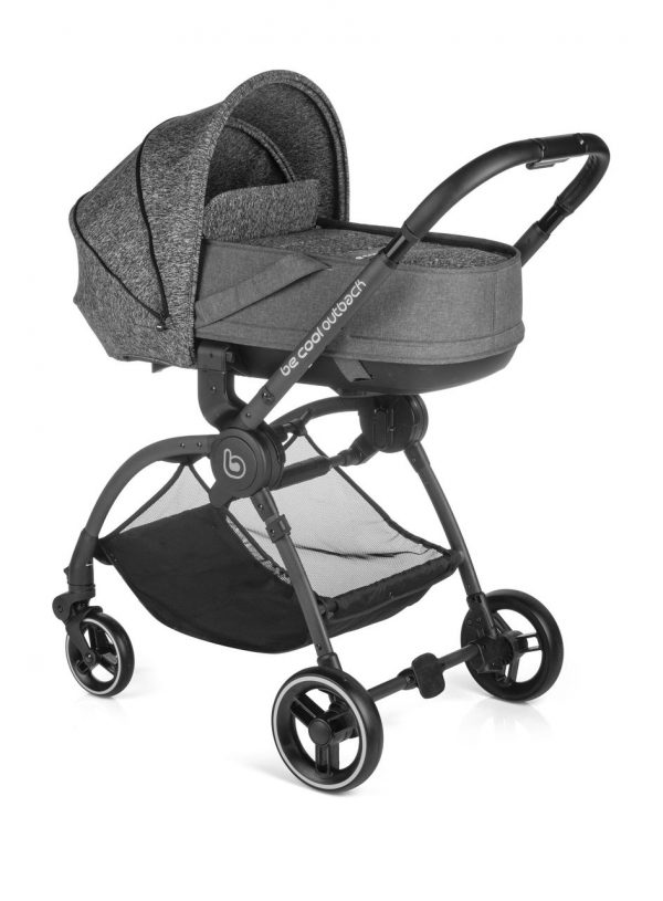 BECOOL - COCHECITO OUTBACK CRIB ONE MELANGE - Be Cool