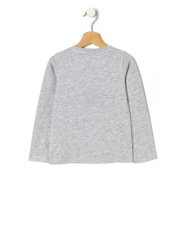 Camiseta básica con estampado efecto purpurina - Prénatal