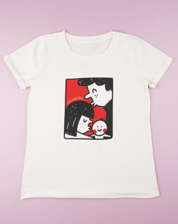 """Camiseta premamá """"White"""" - Prénatal"""