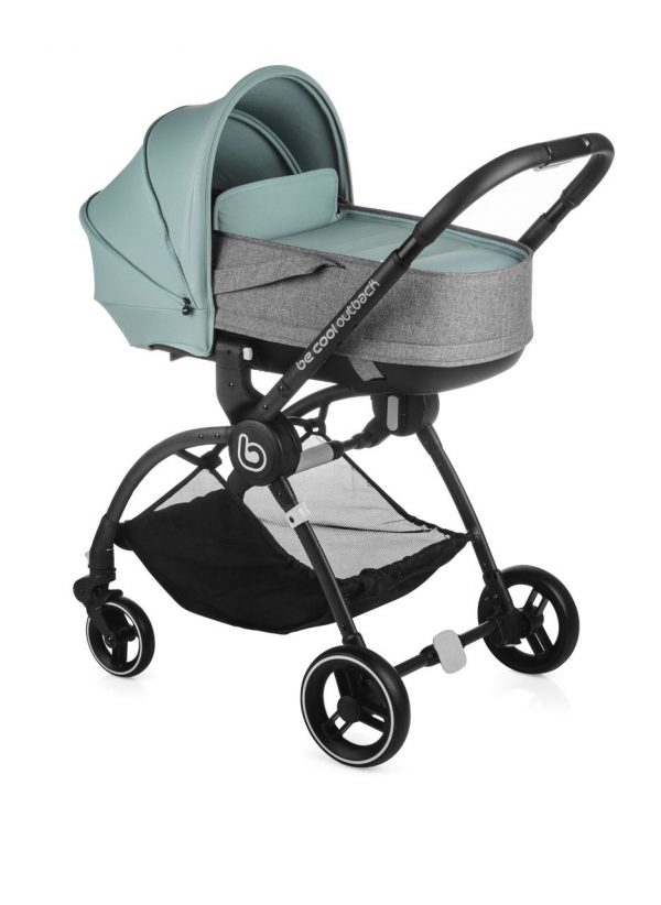 BECOOL - COCHECITO OUTBACK CRIB ONE AQUAMARINE - Be Cool
