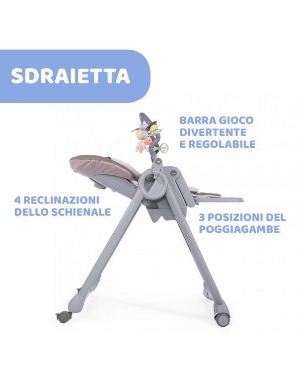 TRONA POLLY MAGIC RELAX COCOA 4R - Chicco