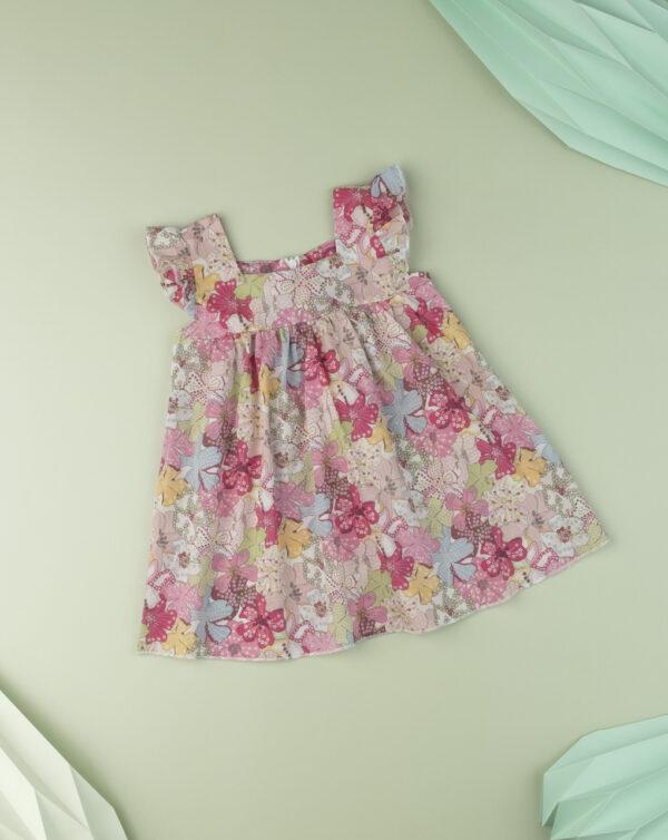 """Vestido baby girl """"Sweet Flower"""" en tejido liberty - Prénatal"""