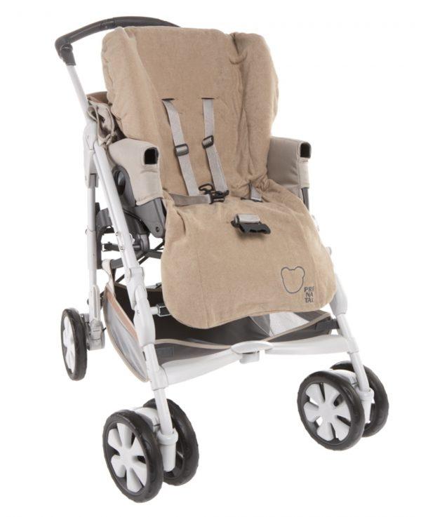 Funda beige para silla de paseo - Prenatal 2