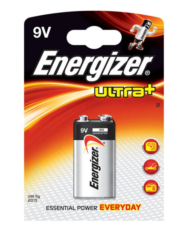 Pila alcalina 9V 9V-Block ULTRA+ - Energizer