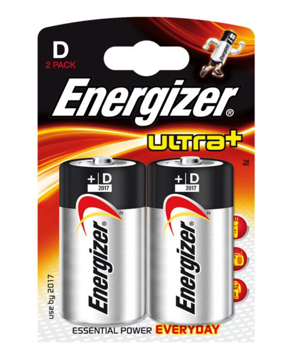 2 Pilas 1,5V - Ultra + Alcalina - Energizer