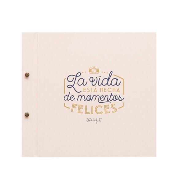 ALBUM - LA VIDA ESTÁ HECHA DE MOMENTOS FELICES - MR. WONDERFUL