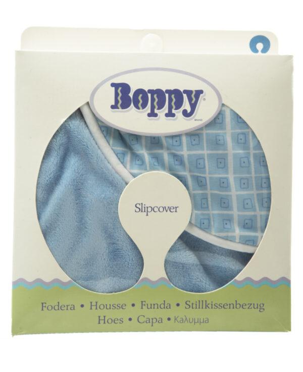 Funda Boppy® Cuadrados Azules Boppy - Chicco