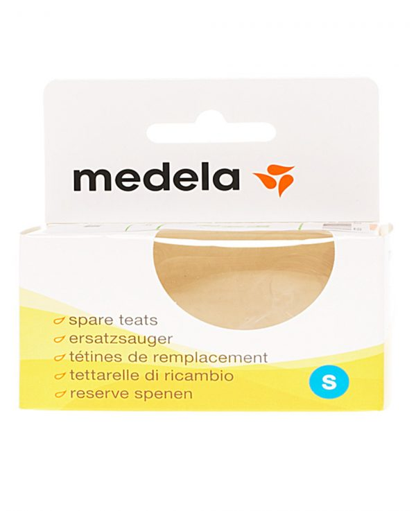 MEDELA - PACK 2 TETNAS ESTÁNDAR SILICONA FLUJO LENTO (+0M) - Medela