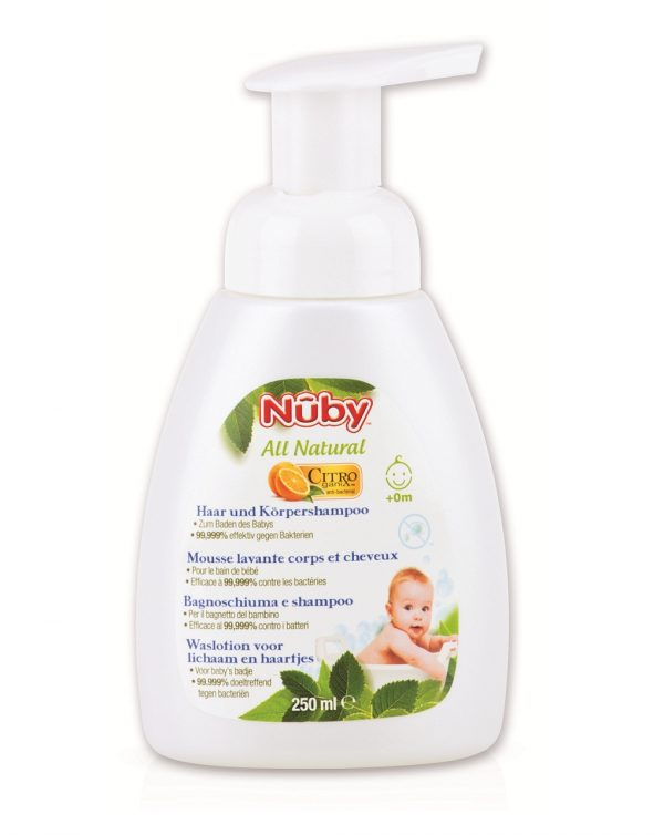 Champú y gel bebé Citroganix 250 ml - Nuby