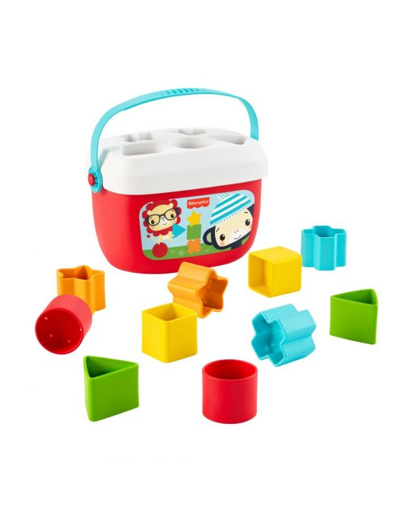 FISHER PRICE - ECO GIFT SET PIRAMIDE Y BLOQUES - Fisher-Price