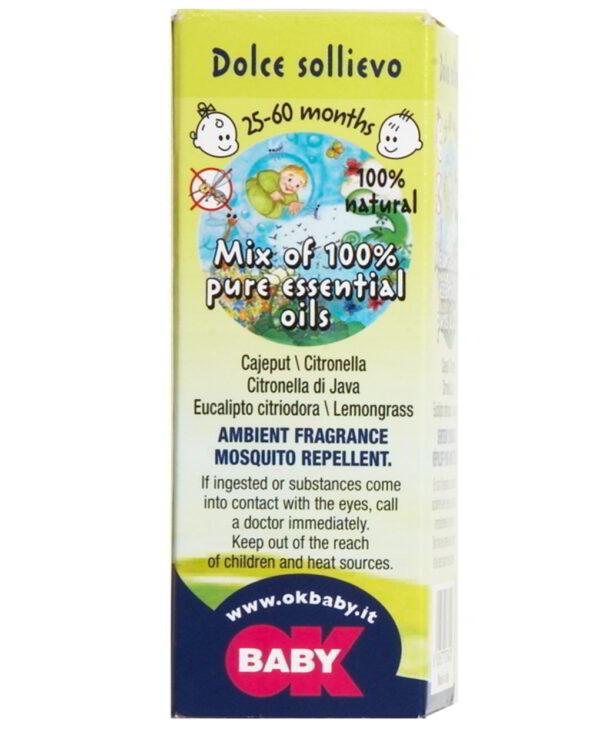 Aceite aromático con repelente de mosquitos 2-5 años - Okbaby