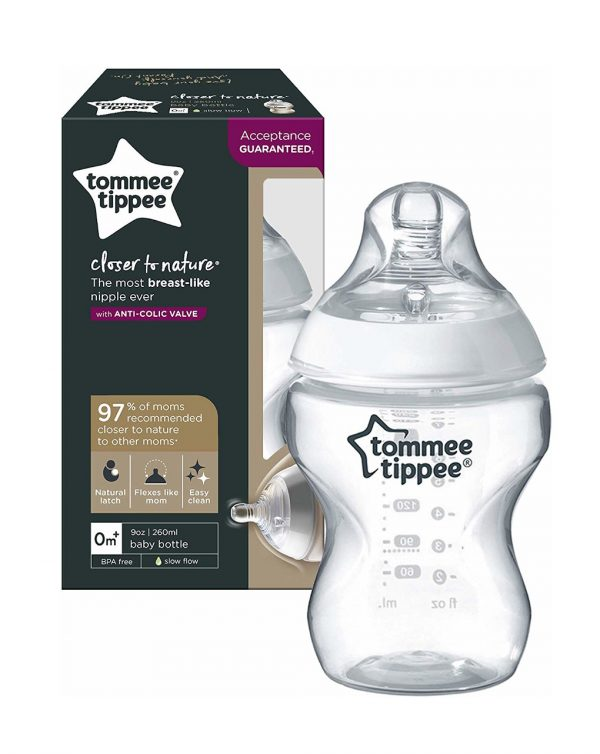TOMMEE TIPPEE - BIBERÓN CLOSE TO NATURAL 260ML FLUJO LENTO - Tommee tippee