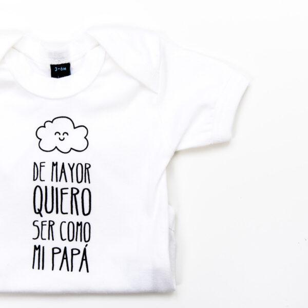 "BODY  ""DE MAYOR QUIERO SER COMO MI PAPÁ"" - MR. WONDERFUL"