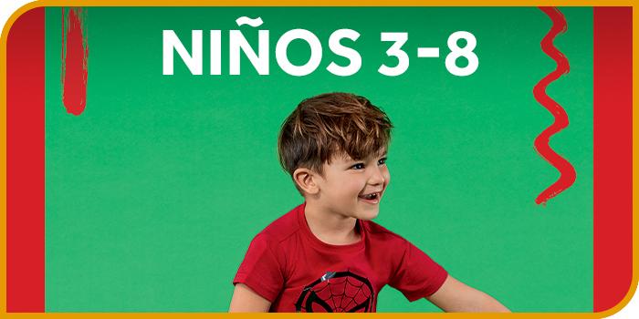NIÑOS 3-8