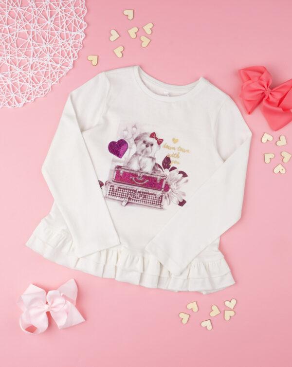 """Camiseta niña """"Perro digital"""" - Prénatal"""