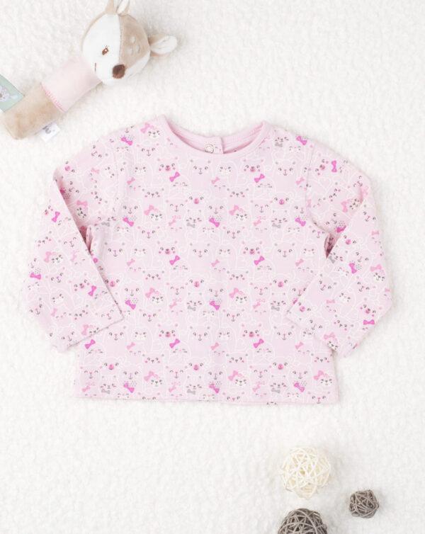 "Camiseta de punto niña ""Gatitos Pink"" - Prénatal"