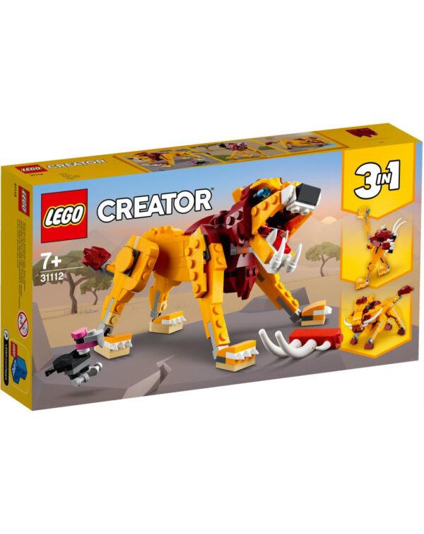 LEGO CREATOR - LEÓN SALVAJE - 31112 - Lego Creator