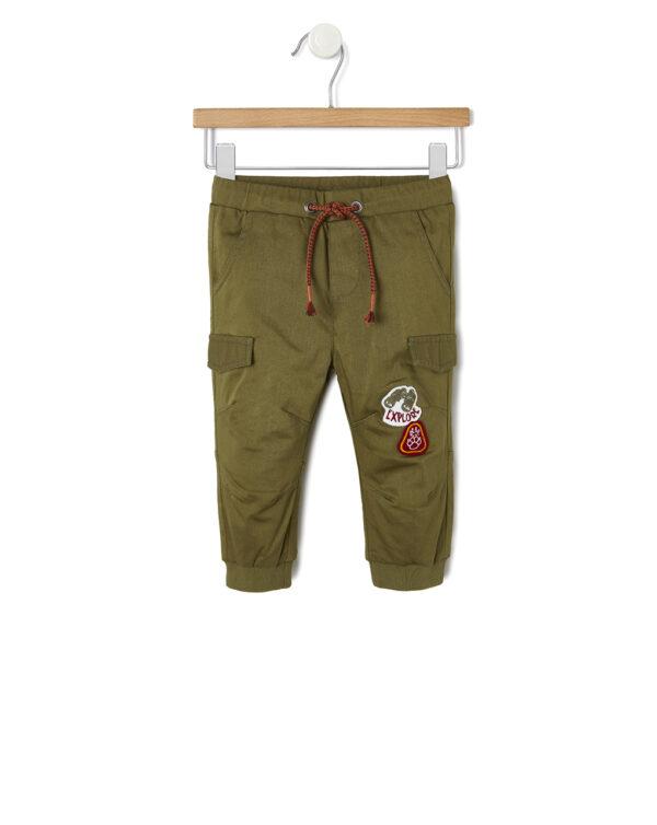 Pantalones de sarga forrada - Prénatal
