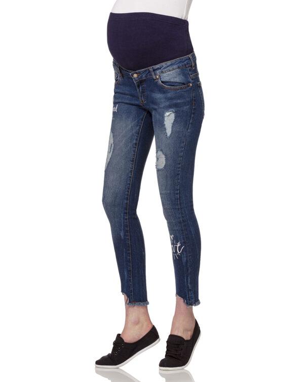 Pantalones pitillo con inscripciones - Prénatal