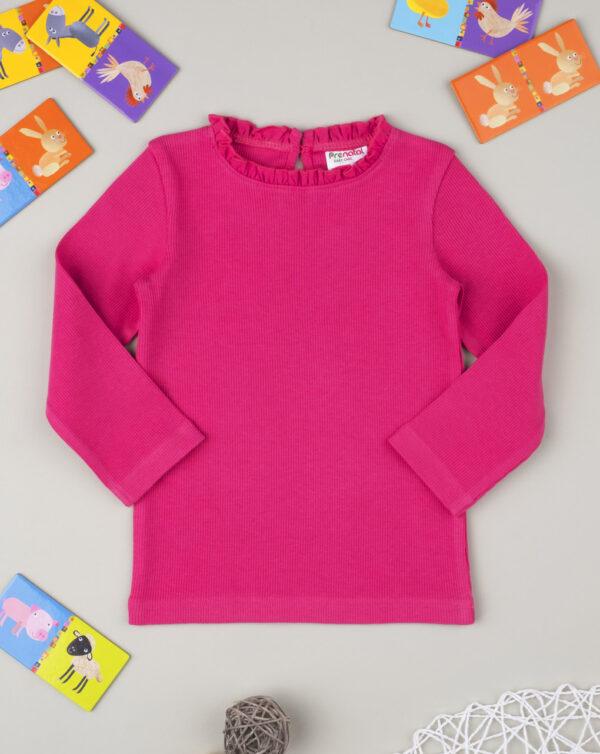 """Camiseta niña de canalé """"Cereza"""" - Prénatal"""