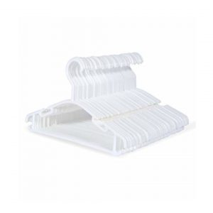 Giordani  Πλαστικές Κρεμάστρες - 6 Τεμ Λευκές