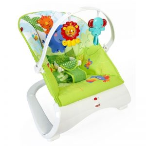 Fisher-Price Καθισματάκι Ριλάξ Rainforest Friends CJJ79