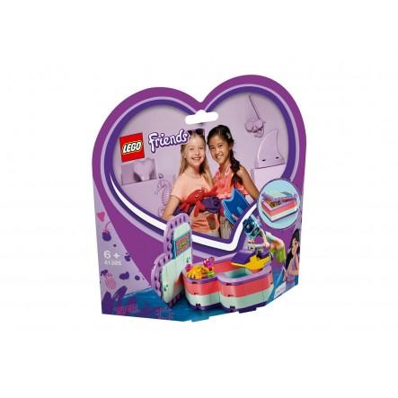 LEGO Friends Καλοκαιρινό Κουτί-Καρδιά Της Έμμα 41385