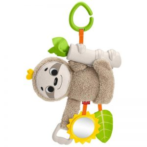 Fisher-Price Stroller Sloth Βραδύπους Κρεμαστό Καροτσιού GHL39