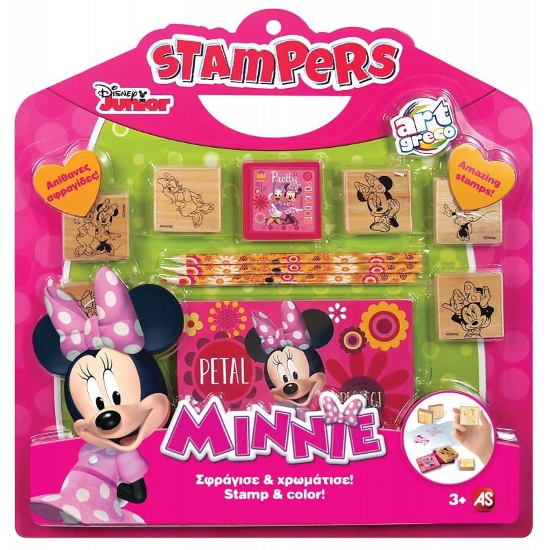 Σετ Σφραγίδες Stampers Minnie Mouse 1023-63020