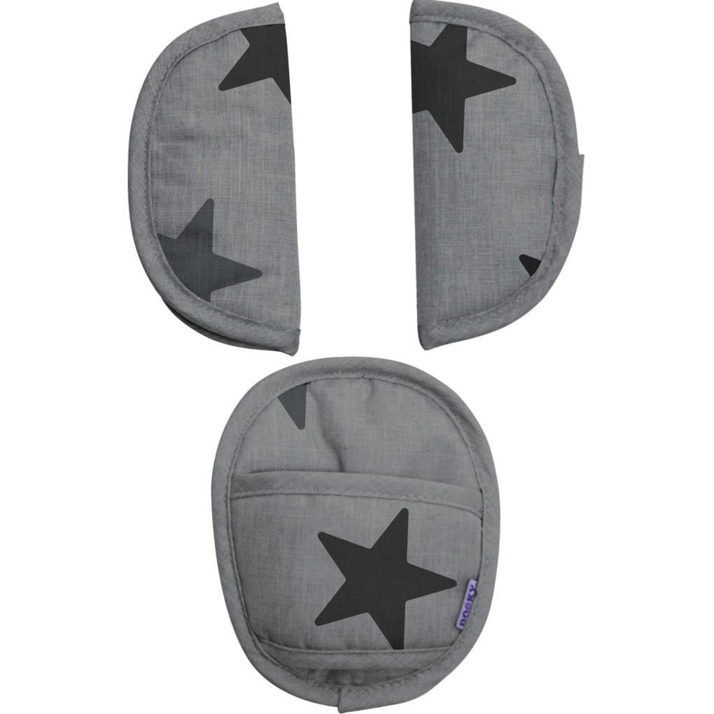 Dooky Μαξιλαράκια ζώνης Grey Stars