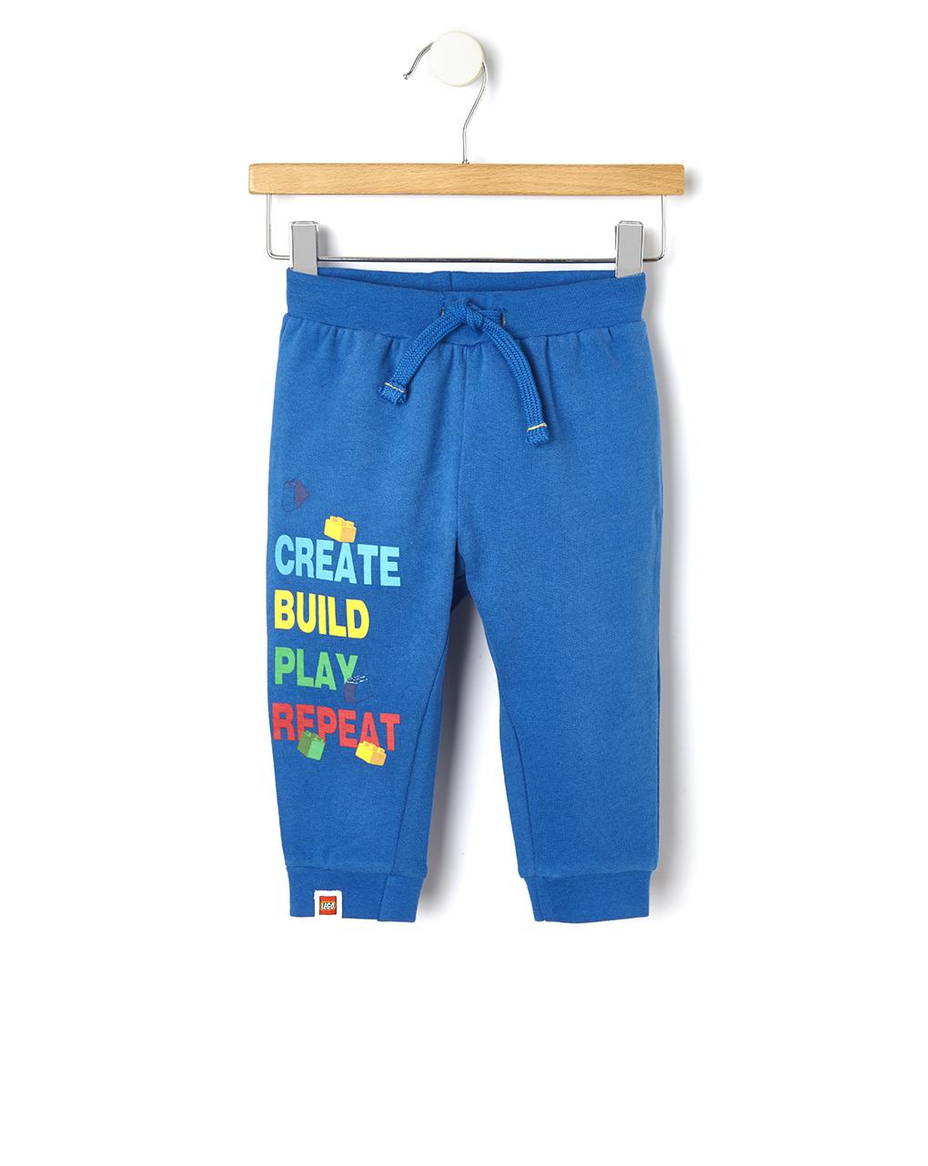 Παντελόνι Φούτερ Μπλε Lego για Αγόρι