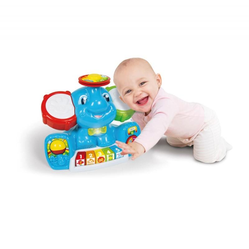 Baby Clementoni Βρεφικό Παιχνίδι Ελεφαντούλης 1000-63518