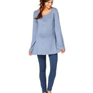 Γυναικείο T-shirt Θηλασμού Γαλάζιο