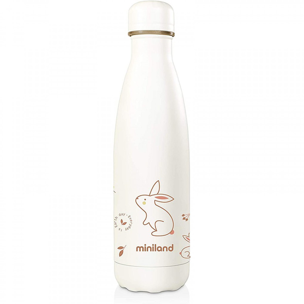 Miniland Natur Bottle 500ml Bunny