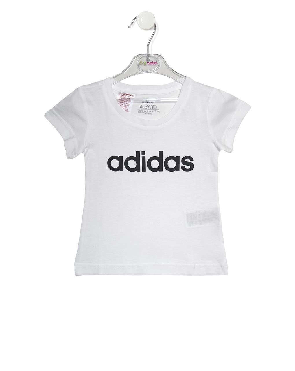 T-Shirt Λευκό Adidas για Κορίτσι
