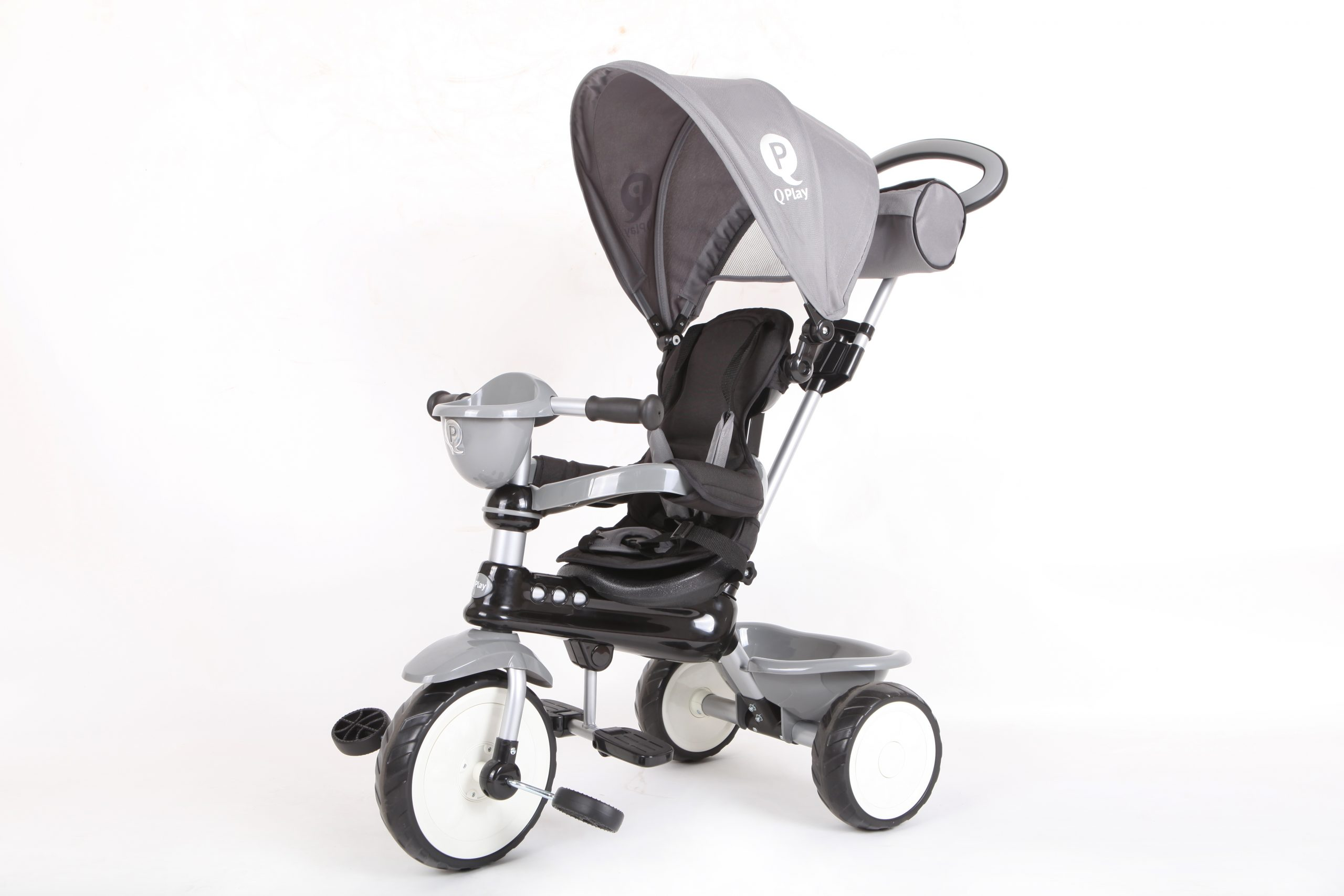 QPlay Τρίκυκλο Comfort Grey 01-1212043-02