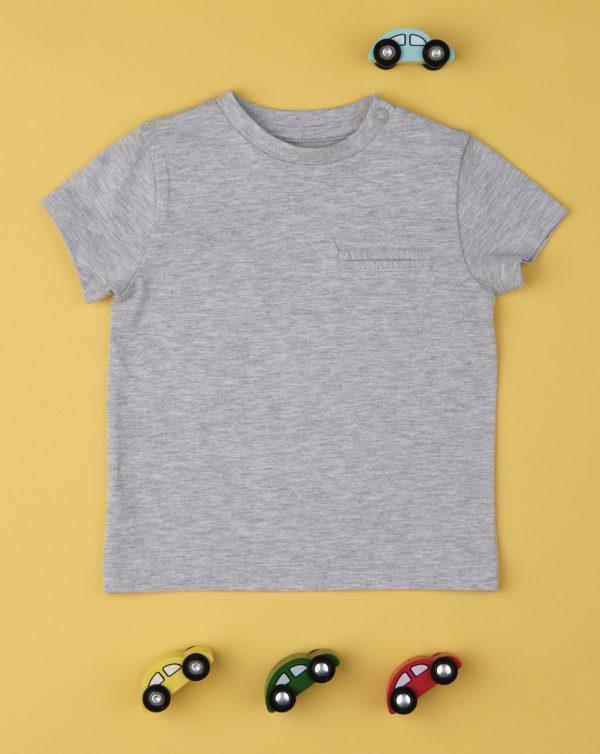 T-shirt Γκρι για Αγόρι